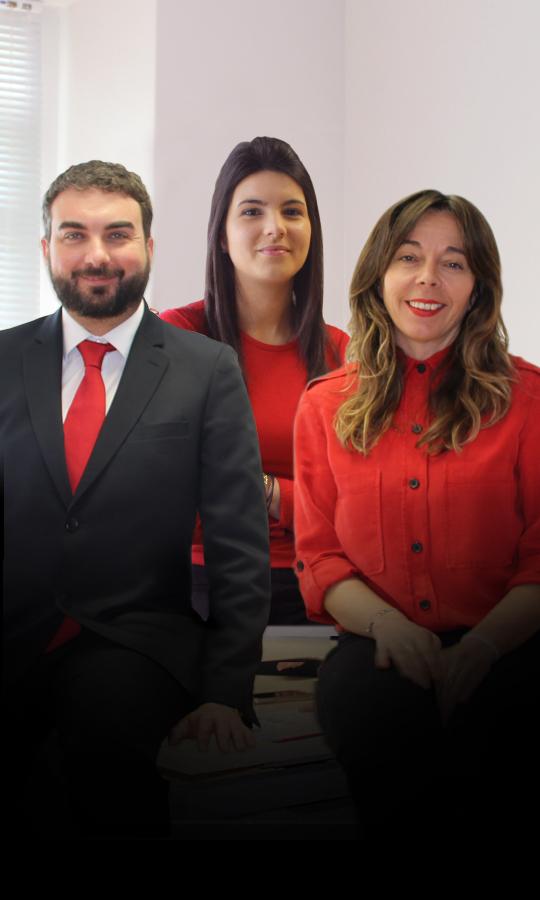 Felipe Vieira, Sonia Mella, Cristina Lameiro